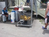 Sinaasappelsap verkoper