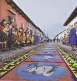 Straat kleden Antigua Guatemala