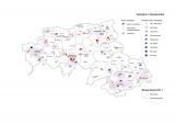 Kaart Brabantstad volleybalverenigingen