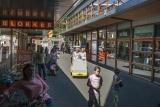 Utrechtse Spoorpunt Express in winkelcentrum Hoograven