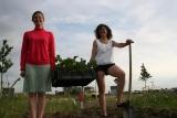 Kwekerij zonder land doneert aan buurttuin