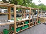 Soepkeuken op de Rotterdamse Oogst markt